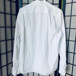J. Crew Tops - J. Crew mercantile White button up oxford sz L